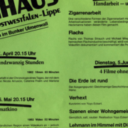 Filme im Bunker Ulmenwall