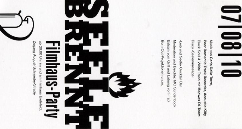 "Filmhausparty ""Seele brennt"" 2010"