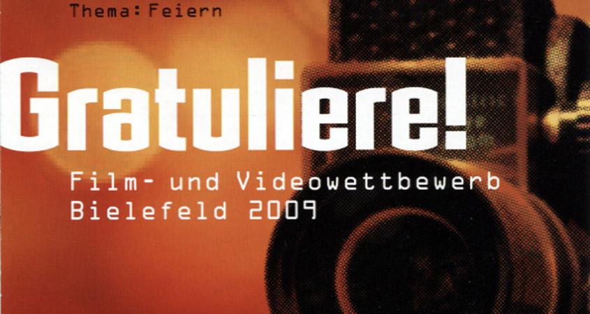 """Bilderbeben 2009 """"Feiern"""""""