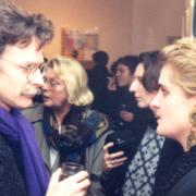 Kurt Johnen im Gespräch mit Maja-Lene Rettig im Lichtwerk 1990
