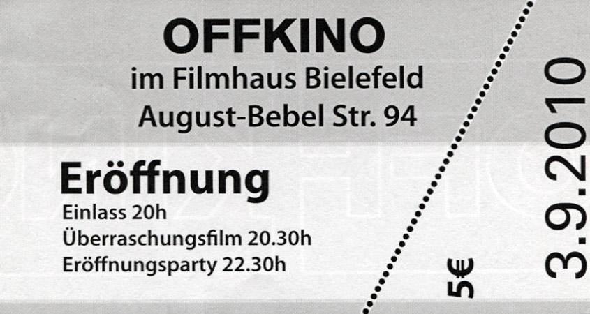 Offkino Openingflyer
