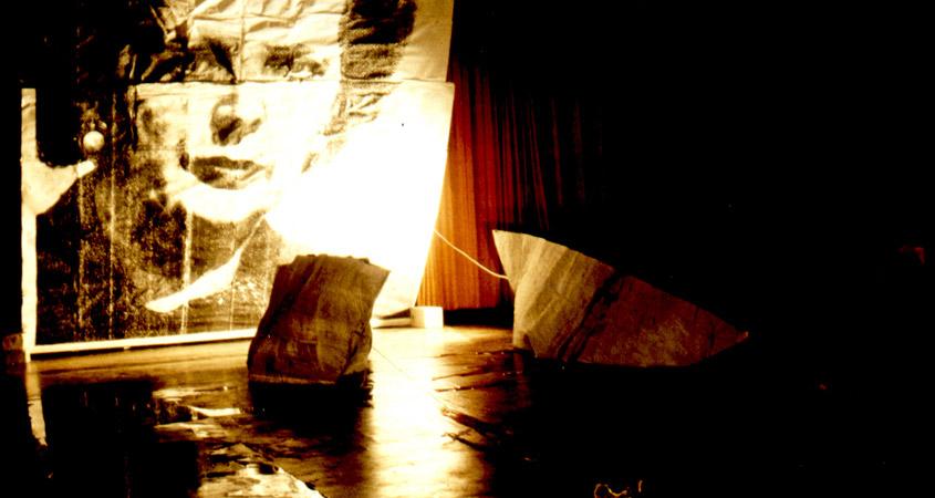 """A Prayer for England"" Performance Sabine Bürger"