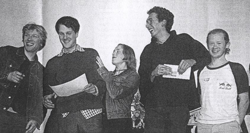 Jimbo Jones Show Team beim Bilderbeben 2000