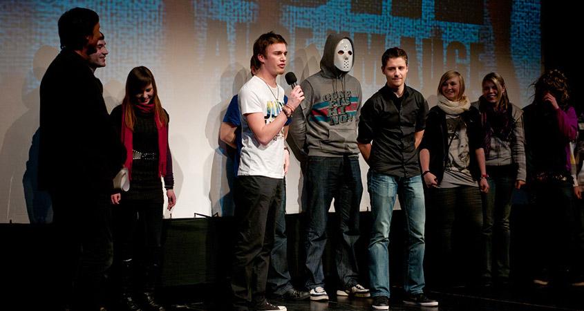 "Publikumspreis Bilderbeben 2010 an ""Snapshot"""