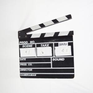 filmklappe 1