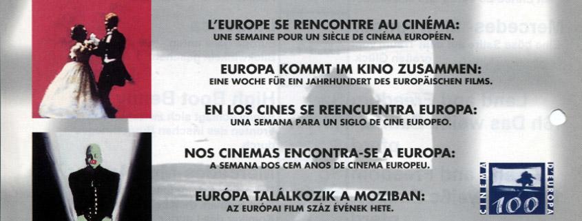 Europa kommt im Kino zusammen