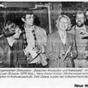 2. Bielefelder Filmfest mit Podiumsdiskussion 1984