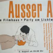 """Filmhausparty """"Ausser Atem"""" 2002"""