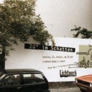 Filmhausparty 30 Grad im Schatten 1988