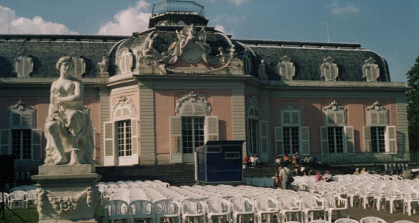 Mondscheinkino in Düsseldorf Schloss Benrath