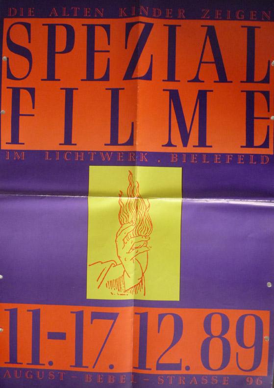 Spezial Filme Plakat 1989