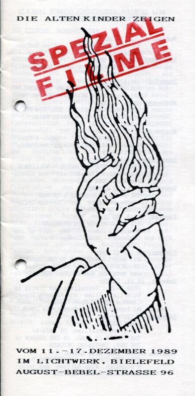 Spezial-Filme Programm 1989