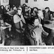 Vereinstreffen im Januar 1983
