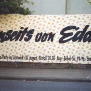 Jenseits von Edam Plakatwand