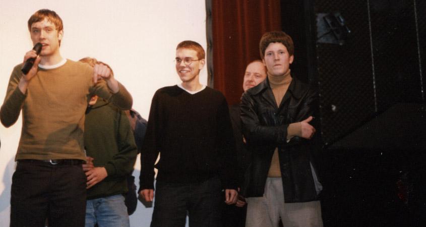 Matthias Schönebäumer von Fatal-Film dankt der Jury
