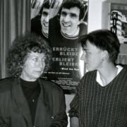Elfii Mikesch und Beate Middeke im Lichtwerk 1997