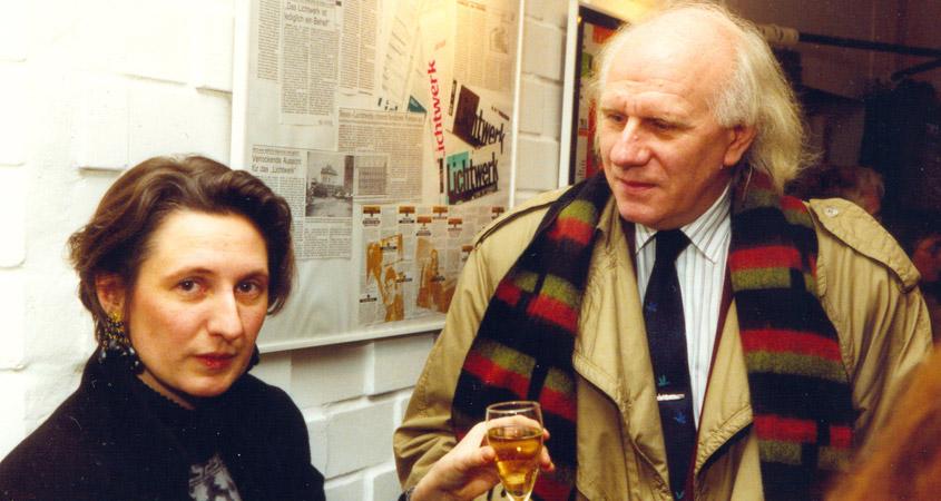 Horst Adam im Gespräch mit Barbara Witych 1990