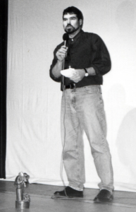 Michael Thamm bei der Preisverleihung 1997