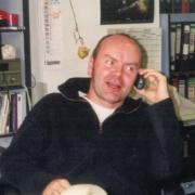 Jörg Erber im Filmhausbüro