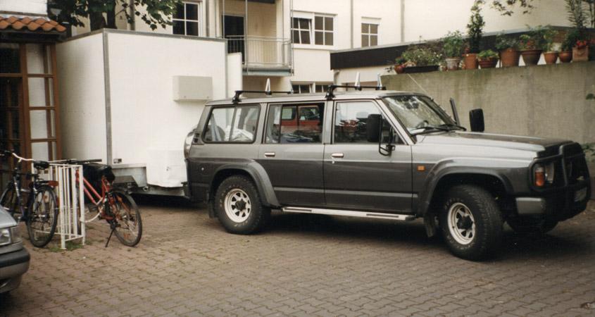 Mondscheinkino-Gespann am Filmhaus 1998