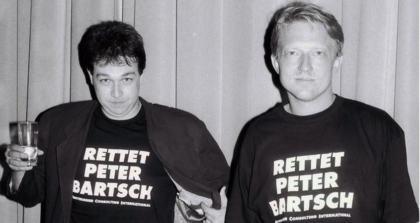 Partyact mit Oliver Kalkofe und Dietmar Wischmeyer