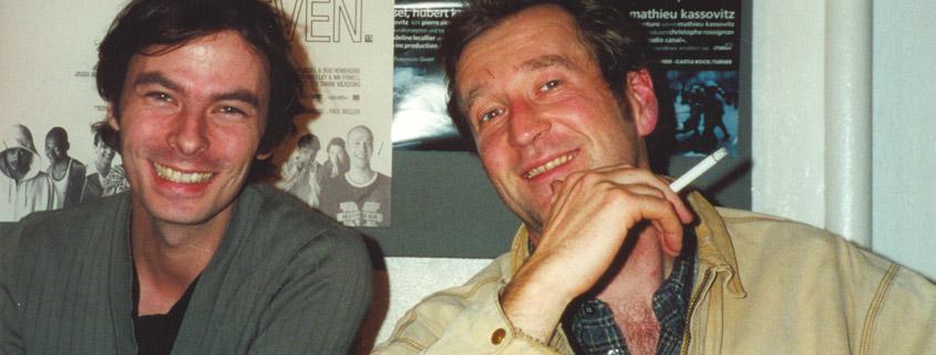 Peter Lohmeyer mit Jan Stevener