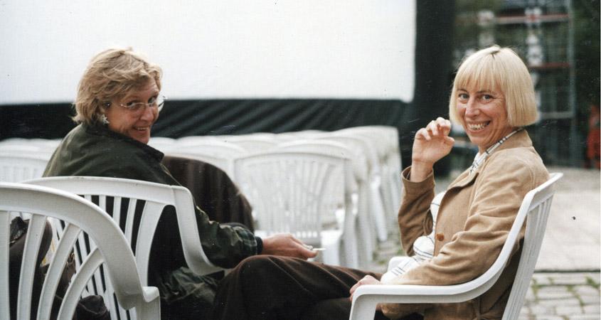 Rosemarie Schatter und Anna Fantl