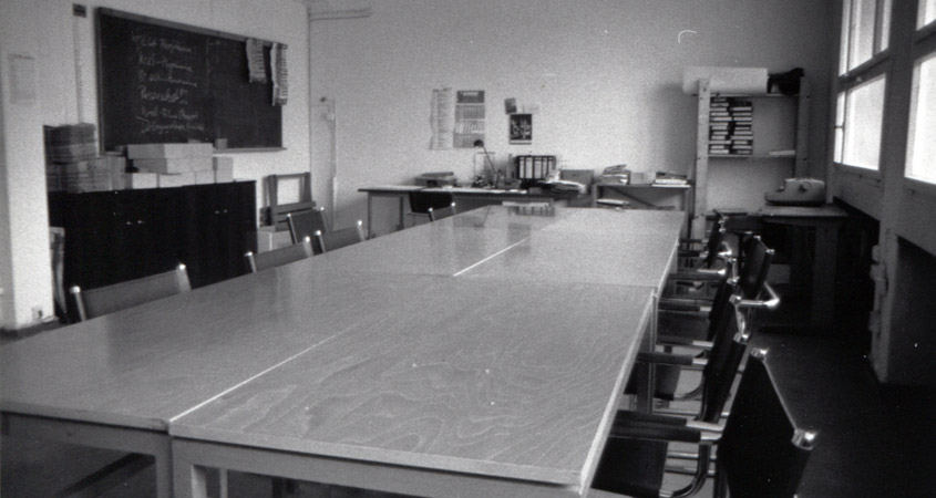 Seminarraum 1989