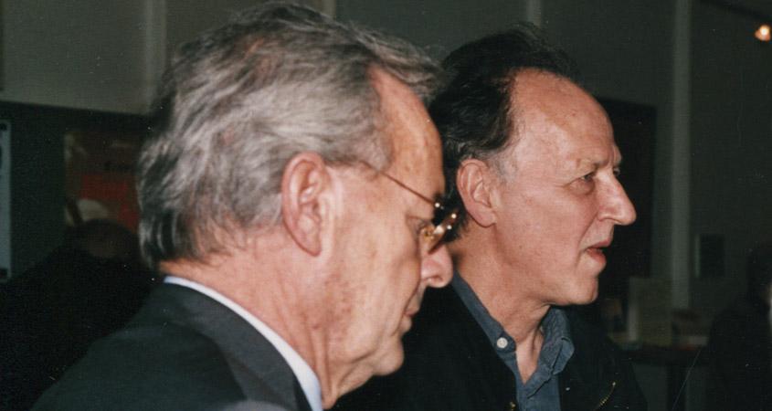 Werner Herzog und Horst Annecke im Lichtwerk-2001