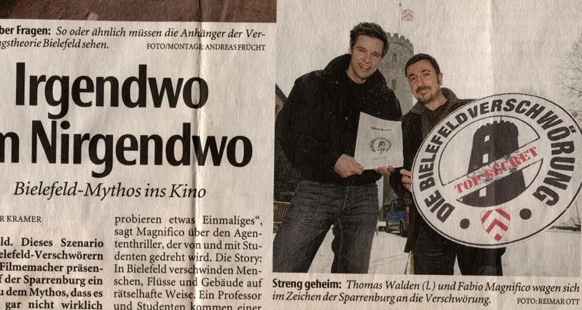 Bielefeld Verschwörung 2009