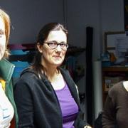 Sabine Kaiser, Carmen Ruffer, Christiane Orywal