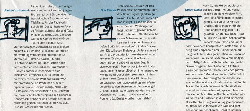 Lichtwerkgründer Biografien 1995