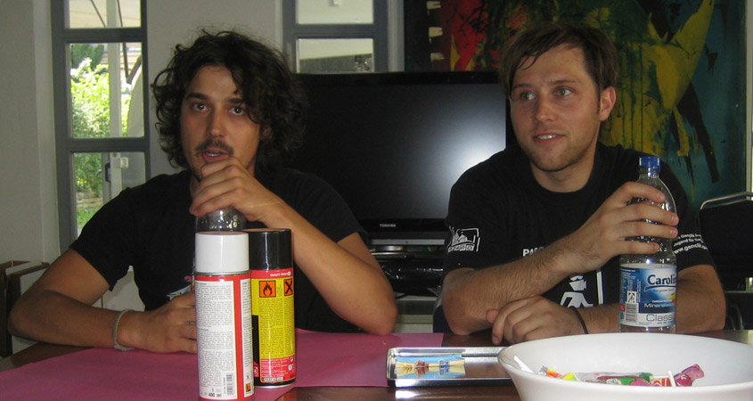 Filmhausparty mit Daniel Gerlich und Tobias Haase