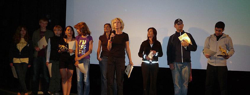 Eva Kukuk beim Kinder- und Jugendfilm-Wettbewerb 2008