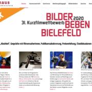 Neugestalteten Filmhaus-Website geht online