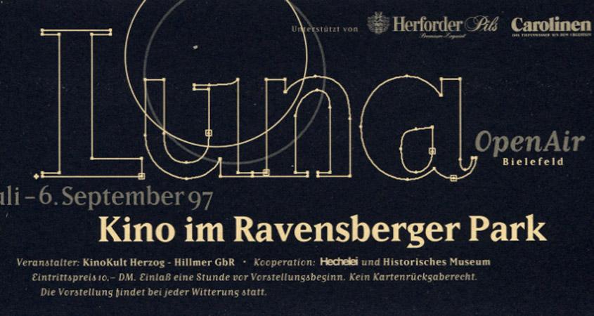 Luna Open Air Kino im Ravensberger Park