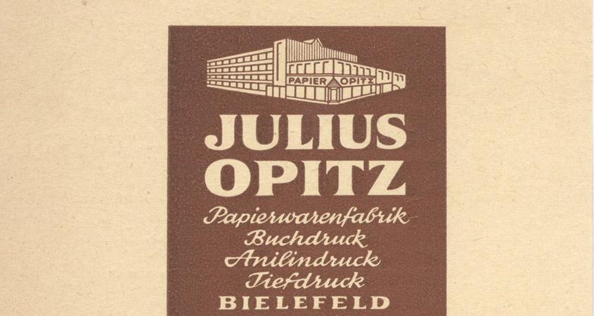 Julius Opitz Papierwarenfabrik