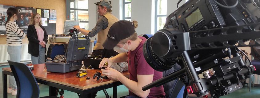 Kameratest Ursa Mini für Kurzfilmworkshop