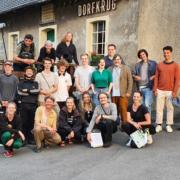Gruppenbild Digital Cinema 2021 am Dorfkrug