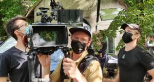 erster Drehtag mit Kameramann Krischan Rudolph
