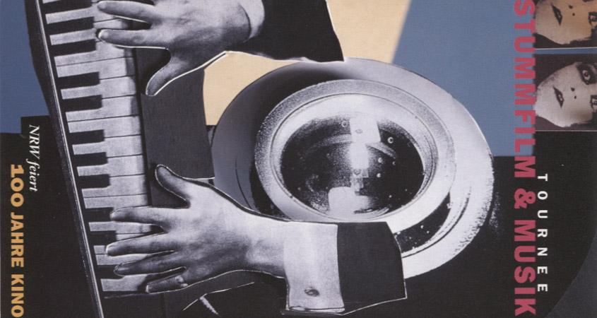 Kinojubiläum 1995 mit Stummfilmtournee