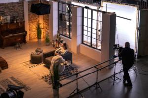 Uli Mors mit FX9 im Studioset